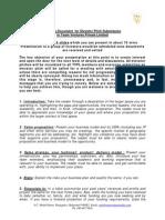 Guiding Document