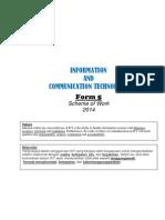Rancangan Pelajaran Tahunan 2014 Form 5
