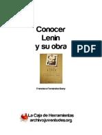 Fernández Buey - Conocer a Lenin y su obra