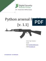 Python Arsenal for RE 1.1