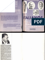 Giuseppe Domingo - Italianos en la política venezolana - 1