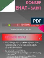KONSEP SEHAT-SAKIT