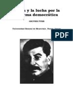 Furr - Stalin y La Lucha Por La Reforma Democratica