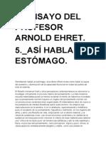 5º ENSAYO DE ARNOLD EHRET