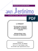 Webquest innovadora Tecnica de Aprendizaje Wilfredo Rimari