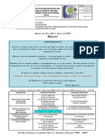 No. 01 Vida Institucional Del 13 Al 22 de Enero de 2014