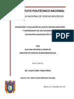 Tesis de Maestría Separación y evaluación de la actividad an