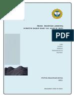 proses Gasifikasi batubara