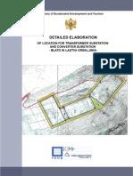00 Converter and Transformation Stations Site Blato in Lastva Grbaljska