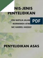 JENIS-JENIS PENYELIDIKAN.pptx