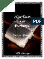 Preguntas y Respuestas Por Willie Alvarenga