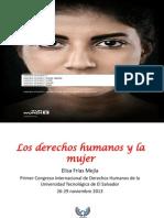 Los Derechos Humanos y La Mujer - Elisa Frias Mejia - Version Final