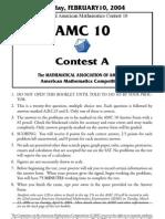 2004AMC10A