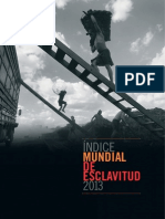 Global Slavery Index 2013 (spanish)