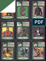 Marvel Super Heroes Adventure Game (SAGA) RPG - Fate Deck