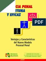 Caracteristicas Nuevo Modelo Procesal Penal Abr2009