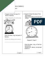 PAPER 2 (Mass,Volume,Shape,Data)