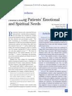 Journal on Spiritual Care