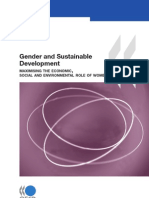 Gender and Sustainable Development