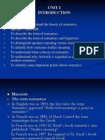 Semantic Introduction