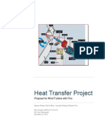 Nodal Heat Transfer Project