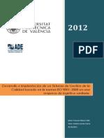 Proyecto ISO 9001 2008 (E. Logística Sanitaria)