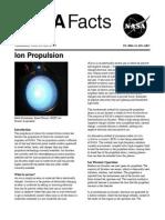 NASA Facts Ion Propulsion