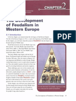 Development of Feudalism in Western Europe