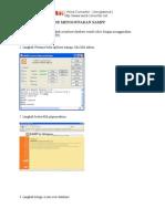 Membuat Database Menggunakan Xampp