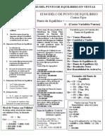 Contabilidad Administrativa- Equilibrio Punto-Industrial