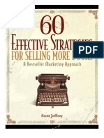 60 Effective Strategies Best Selling Author