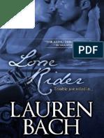 139089595 Lone Rider Lauren Bach