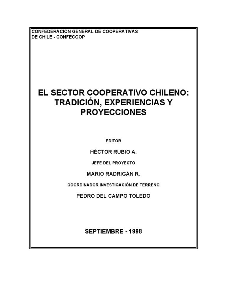 Radriagán, Mario - El Sector Cooperativo Chileno: Tradición ...