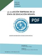 Estimulacion Temprana Educacion Especial