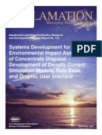 Report132 Concentrate Disposal - EIA Density Current Simulation