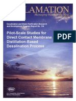 Report134 Direct Contact Membrane Distillation Based Desalination Process