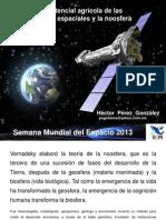 El potencial agrícola de las semillas espaciales y
