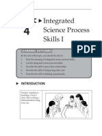 Topic 4 Integrated Science Process Skills I