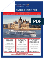 Travel Marvel EUROPE RIVER CRUISING BROCHURE