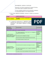 Anexo v Ficha de Seguimiento Agenda 21 Escolar