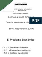 01 La Economia Como Ciencia Social