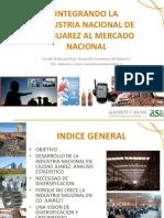 Desarrollo de La Industria Nacional en CD. Juarez