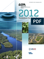 2012 EPA Guidelines for Water Reuse