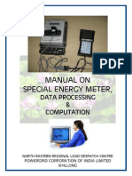 PGCIL Manual on Metering for North Eastern Grid