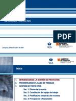 Diapositivas de Gestion de Proyectos