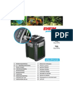 EHEIM Professionel3 350e 450e 700e Manual Electronic