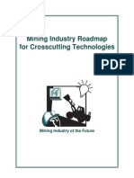 Mining Industry Roadmap  for Crosscutting Technologies
