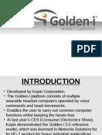 Golden-i headset computer.PPT