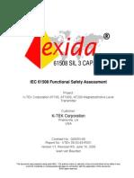 KTEK_08-03-49_R001_V1R0_IEC 61508_Assessment AT100_100S_200
