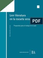 Paz, M. a. (Coord.) 2012 - Leer Literatura en La ES; Propuestas Para El Aula